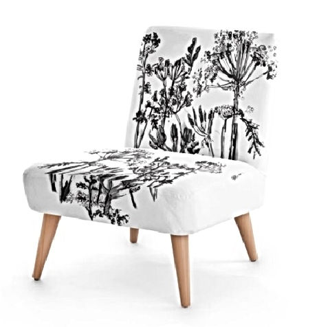Black and White monochrome Chair