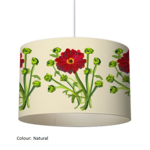 Gerbena Bouquet Lampshade