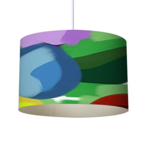 Abstract Bouquet Collection Lampshade