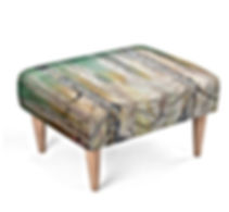 Cottage Footstool
