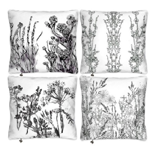 Meadow Muse Collection Set of 4