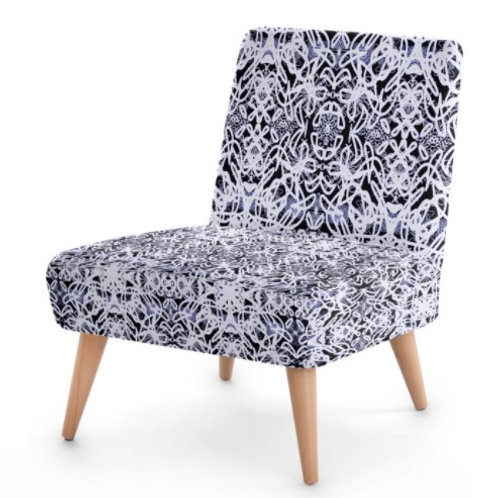 Jacobean Lace Occasional Chair
