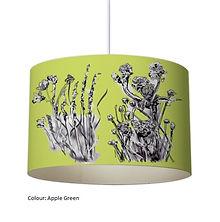 Green nature lampshade