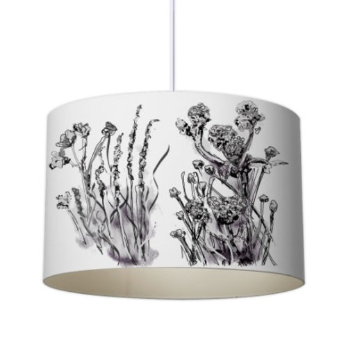 Meadow Muse Botanical Designer Lampshade by Elaine Collins Designs
