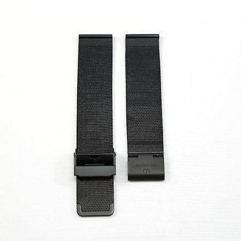Widdenburg mesh black strap