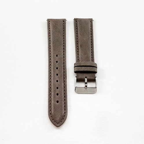 Widdenburg leather strap 20mm - grey