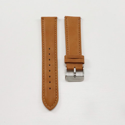 Widdenburg leather strap 22mm - light brown