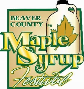 BEAVER COUNTY MAPLE SYRUP FESTIVAL LOGO-