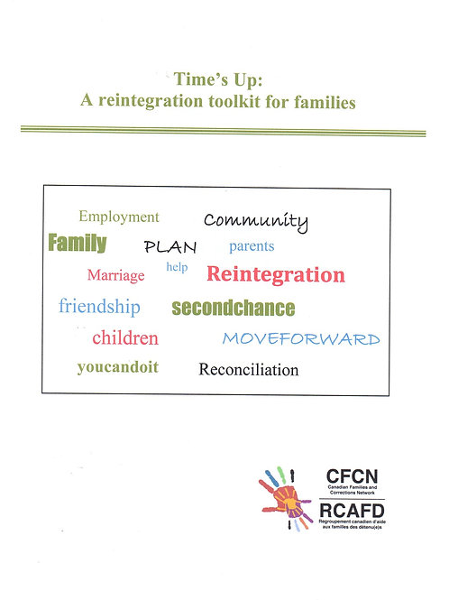 Time's Up Family Reintegration Toolkit / Un nouveau depart