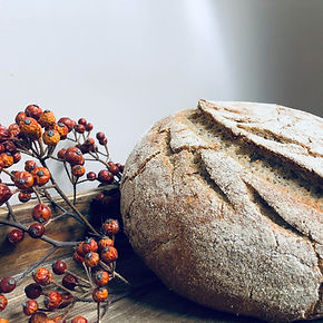 Gluten free fruitwater sourdough With bu