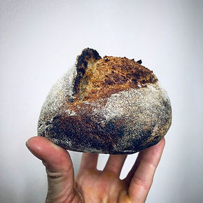 Buckwheat sourdough batard.JPG