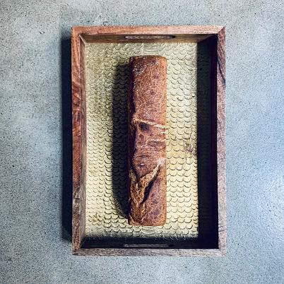 Kasha sourdough loaf with buckwheat flou