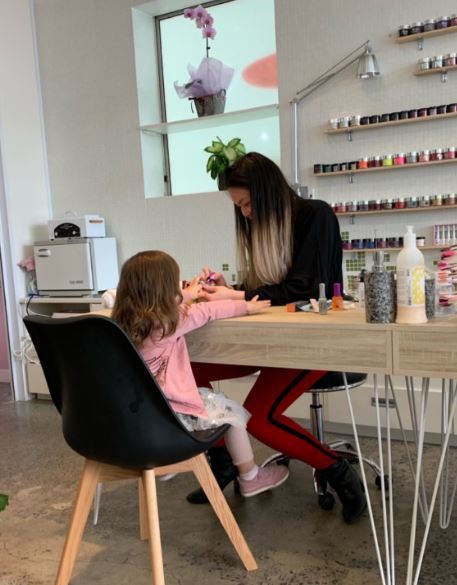 Kids Nail Services