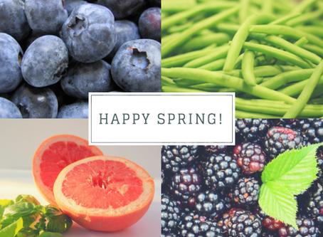 Eating Seasonally - Spring in Texas