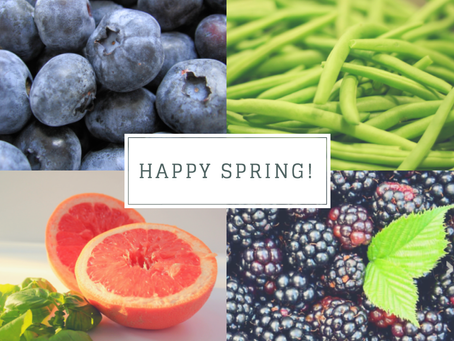 Eating Seasonally - Spring in Texas