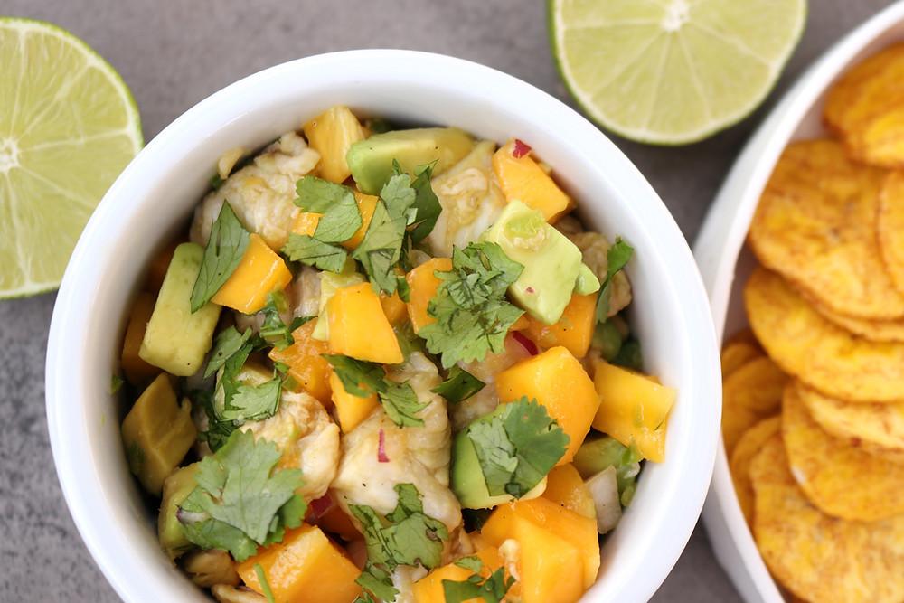 Mango and Jalapeño Ceviche