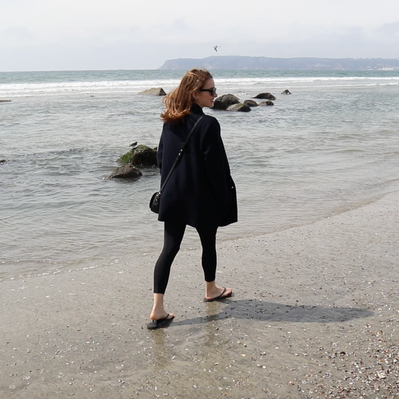 Walking on Coronado Beach