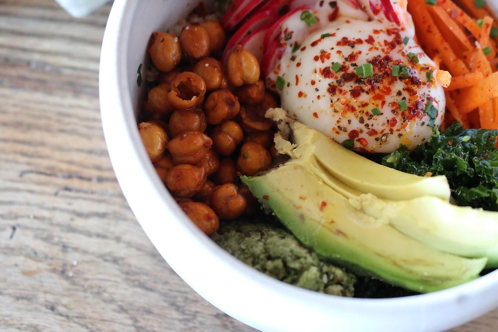 Quinoa Bowl at Café No Sé