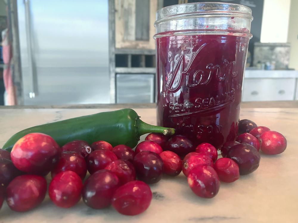 Jalapeño Cranberry Sauce