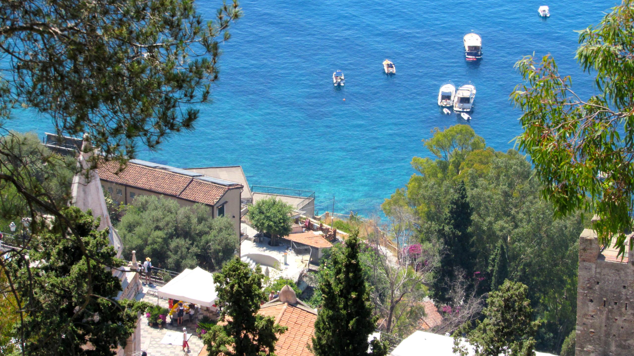 Hiking in Taormina
