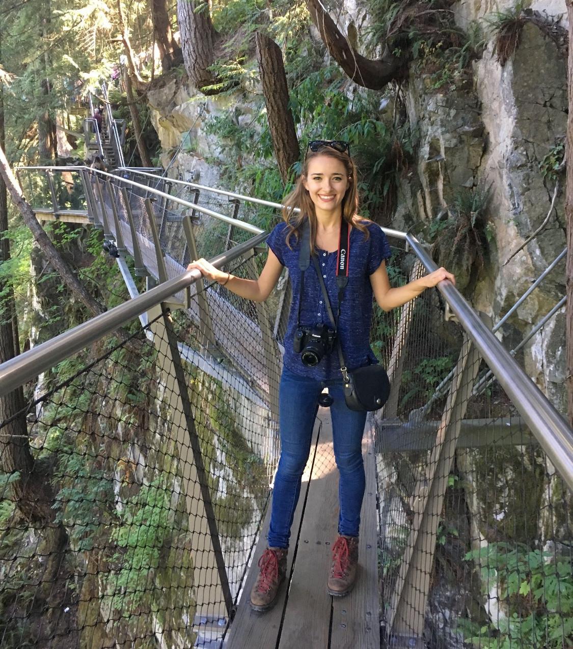 The Capilano Cliff Walk