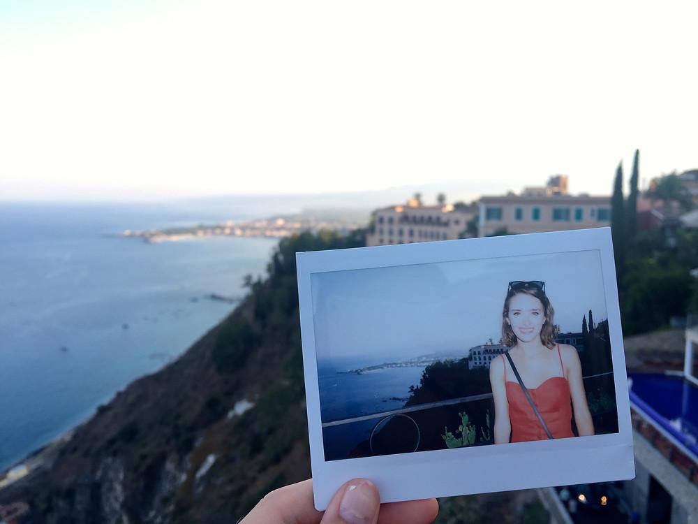 Polaroid from Corso Umberto