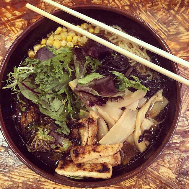Veggie Ramen at Ramen Tatsuya