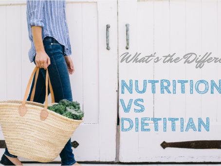 Nutritionist vs. Dietitian - What's the Difference?