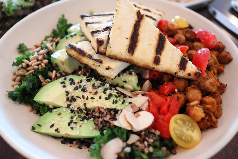 Citizen Power Bowl with Grilled Tofu