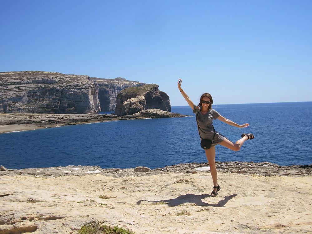 Dancing in Malta