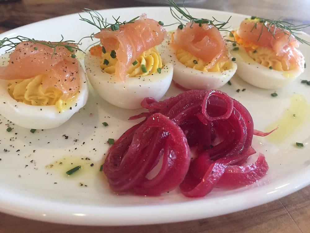 Launderette's Deviled Eggs