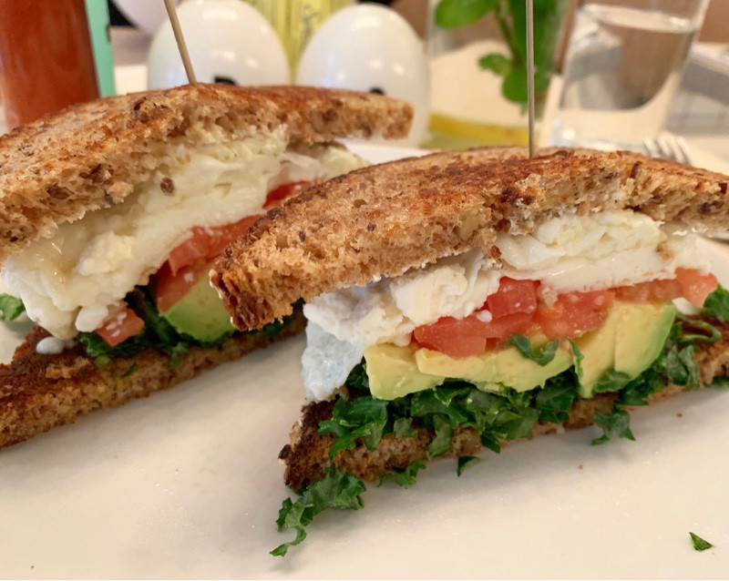 The Reformer Sandwich at Egg Shop