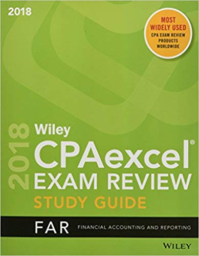Wiley CPAexcel Exam Review Study Guide: Financial Accounting and Reporting