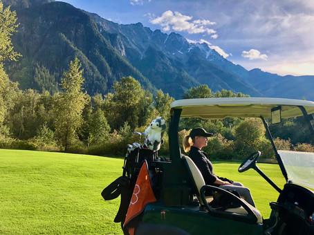 Golfing in Pemberton