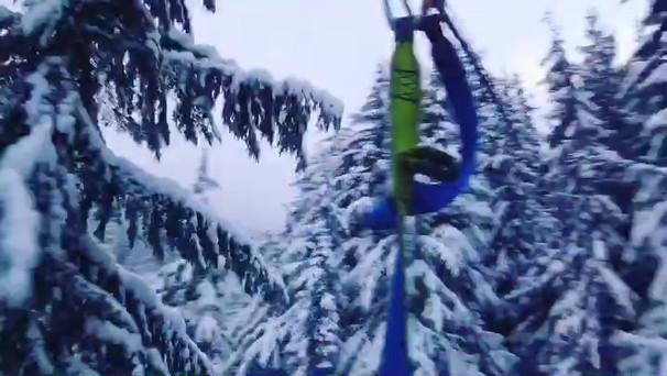 Winter Ziptrek