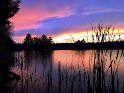 Daggett's Bay Rainy Sunset