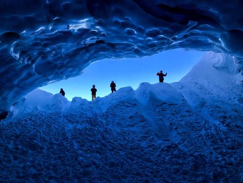 Blackcomb Glacier Ice Cave