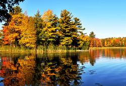 Fall Colors at Daggett Bay
