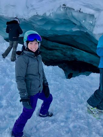 Blackcomb Snow Cave Entrance