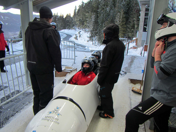 Public Bobsled - Whistler Sliding Center