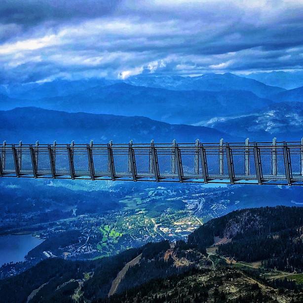 Skyraker Bridge at top Whistler Mountain