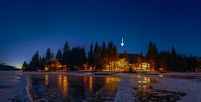 Winter Panorama From Lak
