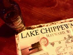 Lake Chippewa Flowage Map & a Leinie