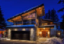 Whistler home winter