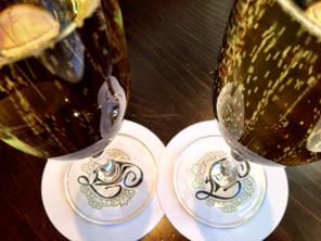 Bubbles in the Mallard Lounge