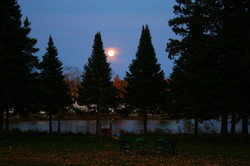 Moody Lake Moon
