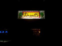 Daggett's Resort Lodge Sign