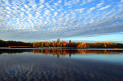 Fall Sky over Daggett Bay