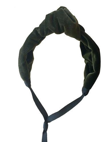 Velvet Knot in Forest Green