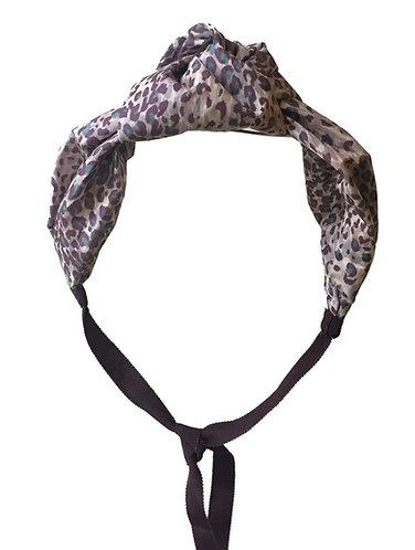 Silk Knot in Leopard